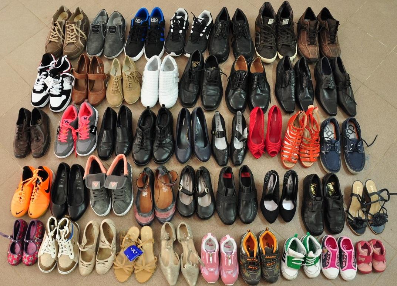Получили одежду и обувь